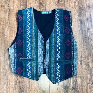 Vintage Everblue Vest